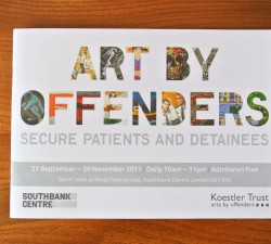 Art by Offenders 2011 leaflet