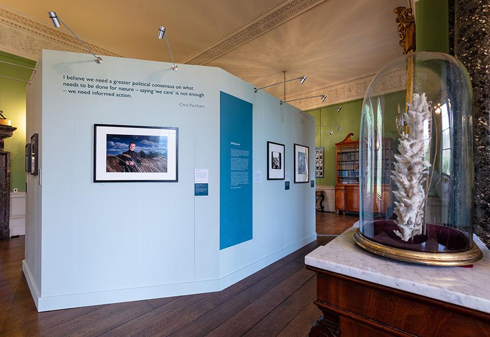 Photo of Nature's Champion exhibition