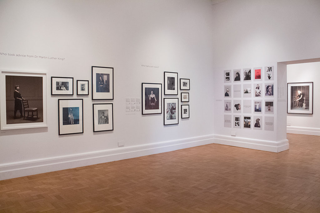 Photograph of the exhibition