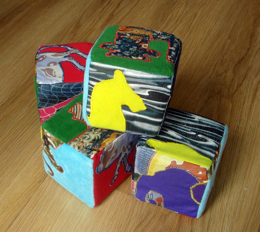 Photo of soft blocks