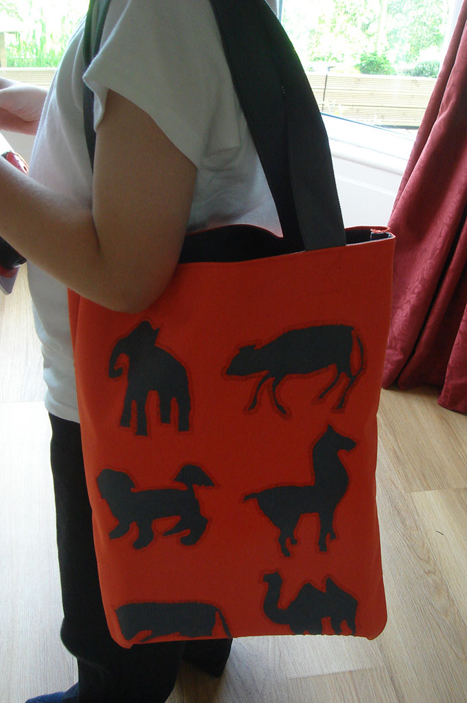 Photo of Agent Animal tote bag