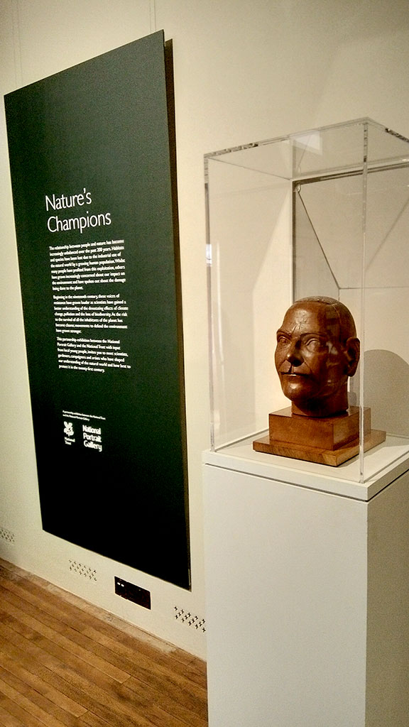 Photo of Nature's Champion exhibition