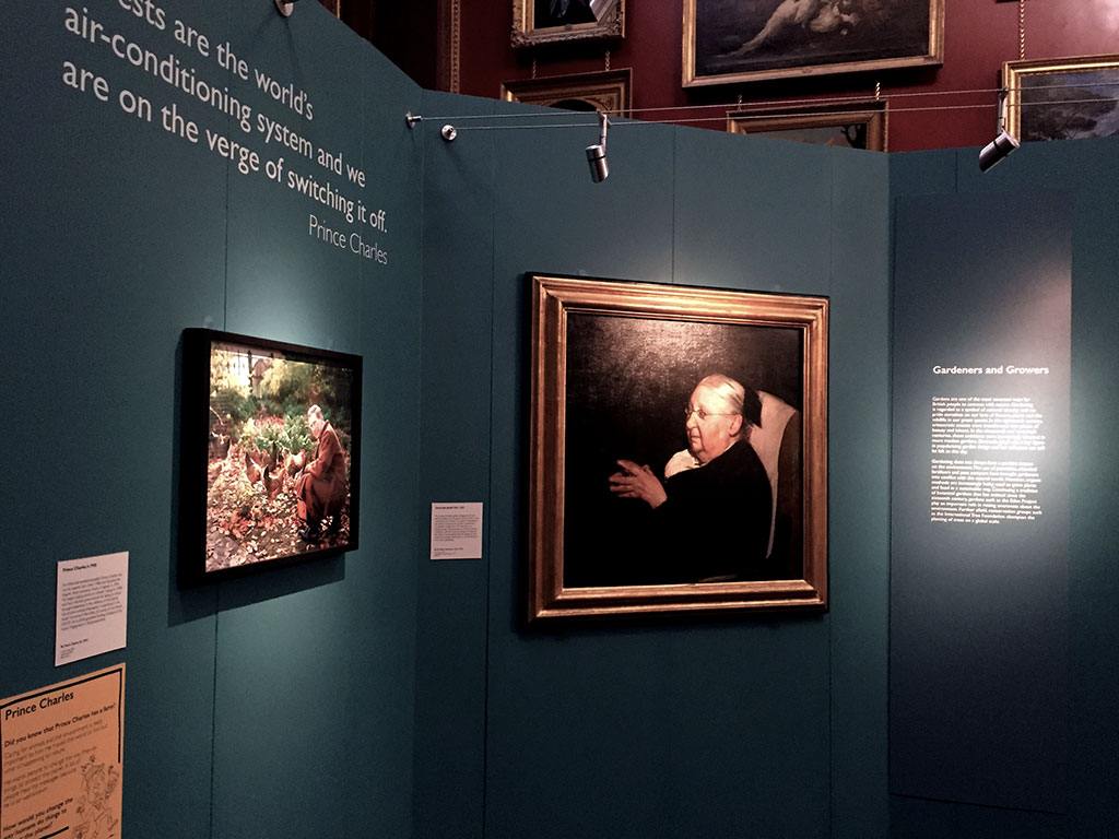 Photo of Nature's Champions exhibition