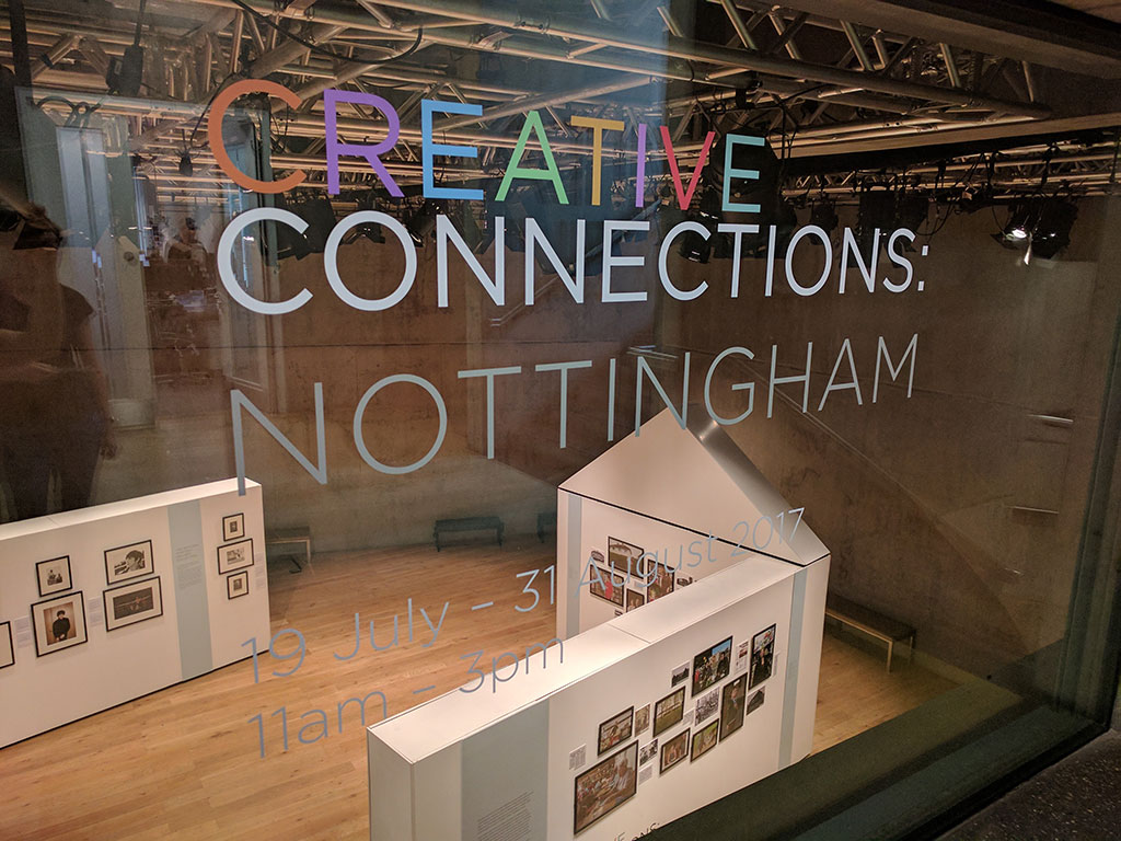 Photo of Creative Connections: Nottingham exhibition